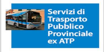 SERVIZIO DI TRASPORTO PUBBLICO PROVINCIALE