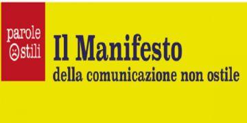IL MANIFESTO DELLA COMUNICAZIONE NON OSTILE PER LA PUBBLICA AMMINISTRAZIONE