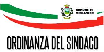 ORDINANZA SINDACALE - NEL GIORNO 19 NOVEMBRE 2019 CHIUSURA DI TUTTE LE SCUOLE DI OGNI ORDINE E GRADO, DEGLI ASILI SIA PUBBLICI CHE PRIVATI, E DEL CENTRO DI AGGREGAZIONE, RICADENTI NEL TERRITORIO DEL COMUNE DI MIGNANEGO PER ALLERTA ARANCIONE