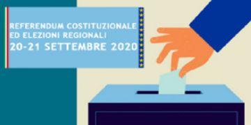 Consultazioni elettorali e referendarie del 20 e 21 settembre 2020. SPOSTAMENTO SEDE DELLE SEZ. ELETTORALI 1 E 3